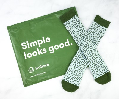 Wohven Socks Subscription August 2020 Review + Coupon!