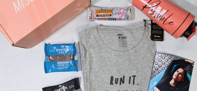 Miss MuscleBox Subscription Box Review + Coupon – August 2020