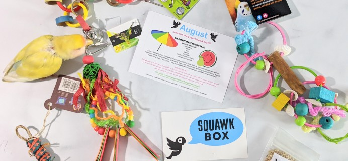 Squawk Box August 2020 Subscription Review