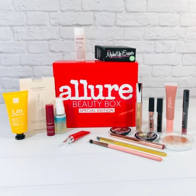 LAST CHANCE To Lock In Allure Beauty Box Annual Subscription Price + FREE Mega Bundle!