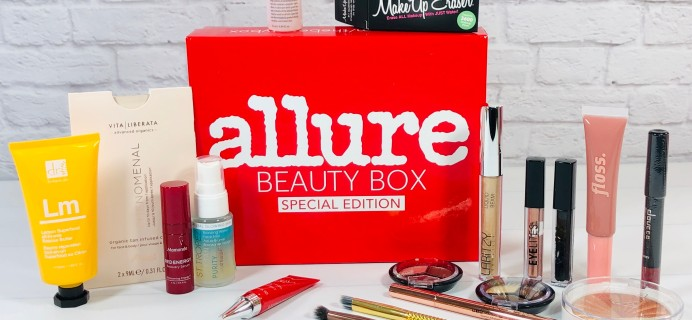ABSOLUTE LAST CHANCE To Lock In Allure Beauty Box Annual Subscription Price + FREE Mega Bundle!