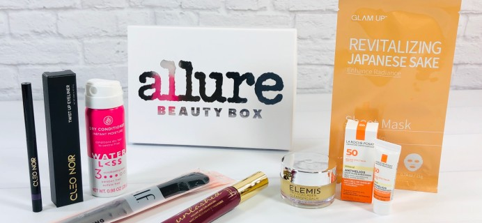 Allure Beauty Box September 2020 Review & Coupon