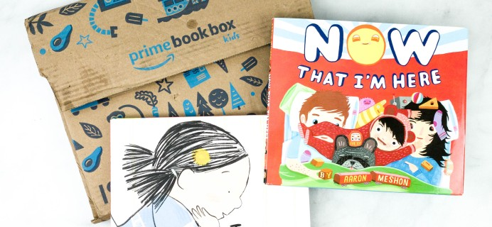 Amazon Book Box Kids Review – September 2020 AGE 3-5
