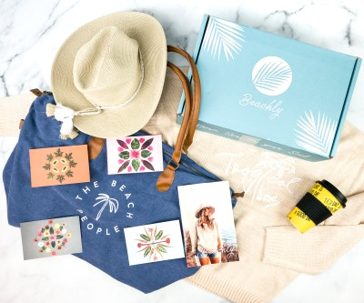 Beachly Women's Box Fall 2020 Subscription Box Review + Coupon!