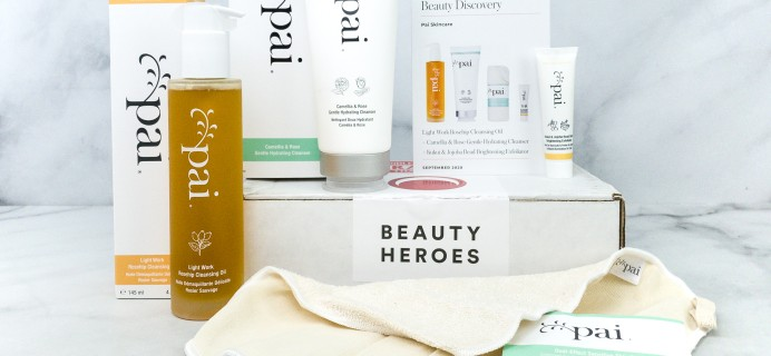 Beauty Heroes September 2020 Subscription Box Review