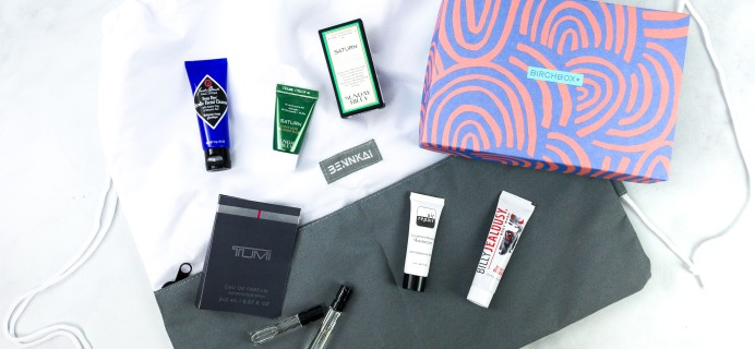 Birchbox Grooming September 2020 Subscription Box Review & Coupon