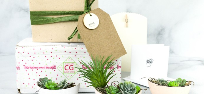 Confetti Grace August 2020 Lil Grace Box Subscription Box Review + Coupon!