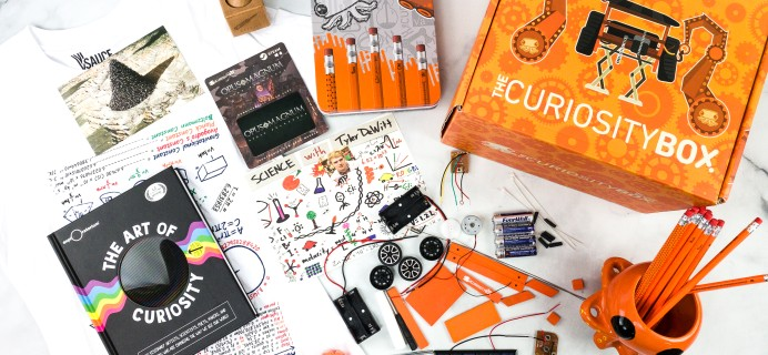 The Curiosity Box by VSauce Fall 2020 Subscription Box Review