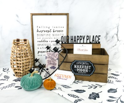 Decocrated Fall 2020 Subscription Box Review + Coupon