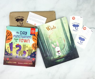 Elephant Books September 2020 Subscription Box Review – PICTURE BOOKS