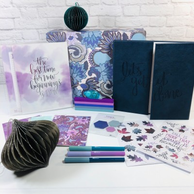Erin Condren Seasonal Surprise Fall 2020 Subscription Box Review