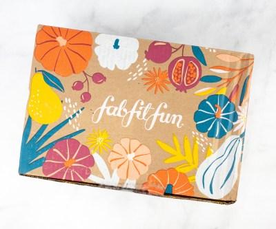 FabFitFun Fall 2021 Full Schedule!