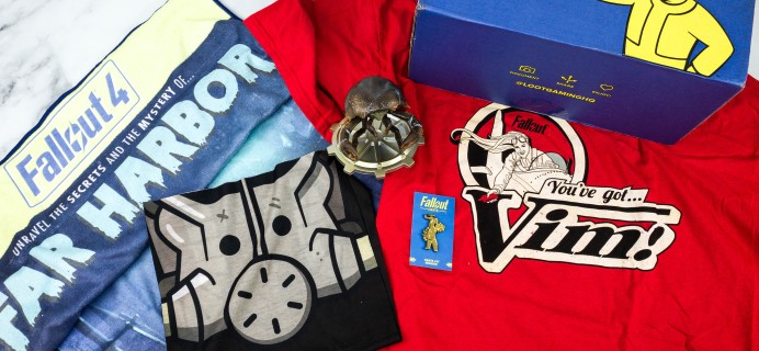 Loot Crate Fallout Crate August 2020 Review + Coupon