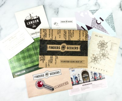 Finders Seekers Subscription Box Review + Coupon – UNITED KINGDOM