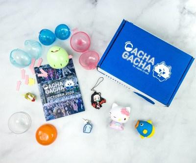 Gacha Gacha Crate October 2020 Subscription Box Review + Coupon