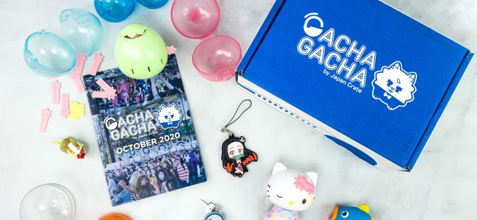 Gacha Gacha Crate October 2020 Subscription Box Review + Coupon