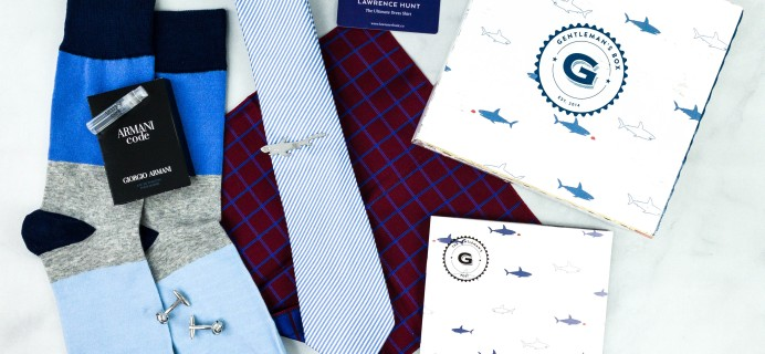 The Gentleman's Box September 2020 Subscription Box Review + Coupon