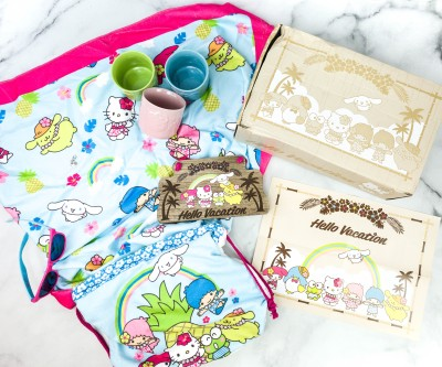 Hello Kitty and Friends August 2020 Subscription Box Review + Coupon!