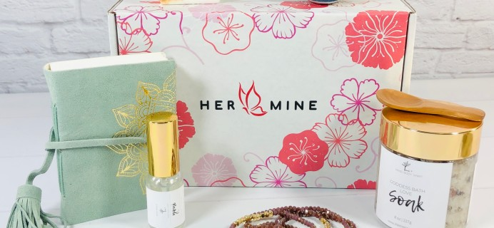 HER-MINE Box September 2020 Subscription Box Review + Coupon