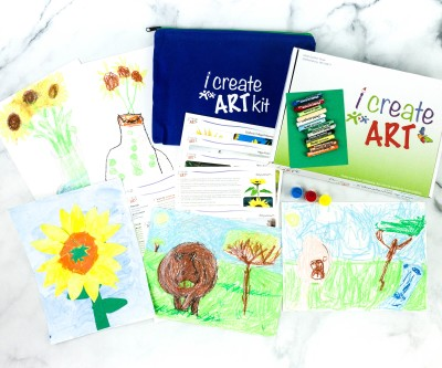 I Create Art Kit Subscription Box Review + Coupon – HIPPO & SUNFLOWER