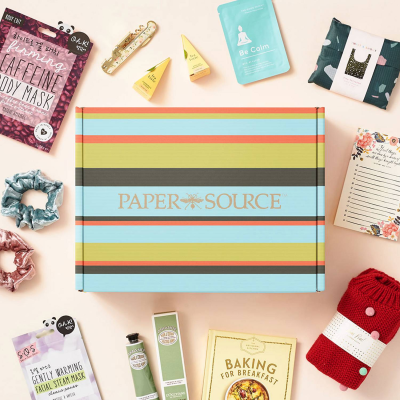 Paper Source Lifestyle Subscription Box Winter 2020-2021 Full Spoilers!