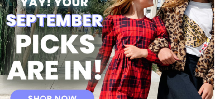 FabKids September 2020 Collection Reveal + Coupon!