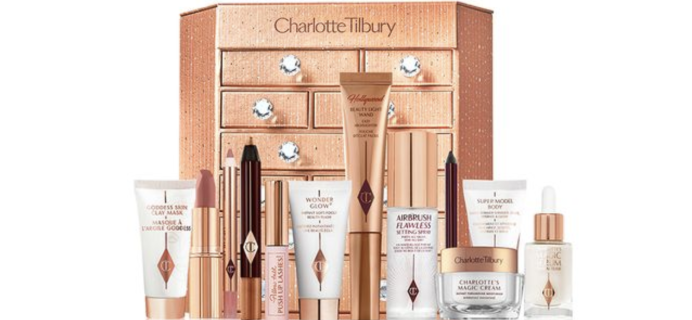 Charlotte Tilbury Beauty Advent Calendar 2020 Available Now + Full Spoilers!