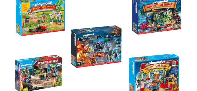 Playmobil 2020 Advent Calendars Available Now!