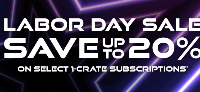 Loot Crate Labor Day Sale: Get Up To 20% Off on Select Crates!