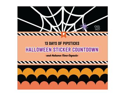 2020 Pipsticks Halloween Advent Calendar Available Now!