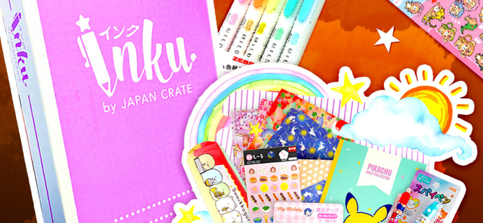 Inku Crate October 2020 Spoilers + Coupon!