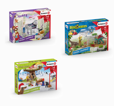 Schleich Advent Calendars 2020 Available Now!