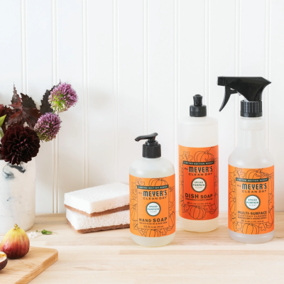 FREE Mrs. Meyer's Spiced Pumpkin Bundle with Grove Collaborative $20 Purchase!