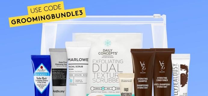 Birchbox Grooming Coupon: FREE Grooming Sample Bundle Pack!