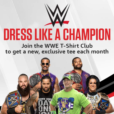 WWE T-Shirt Club Available Now!
