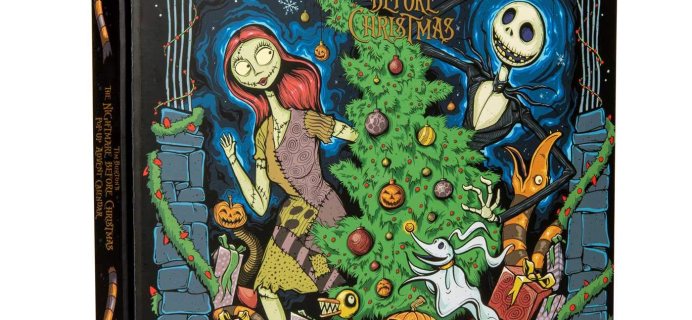 2020 Nightmare Before Christmas Pop Up Book Advent Calendar Available Now!