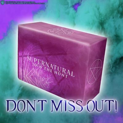 Supernatural Box Fall 2020 Spoiler #1!