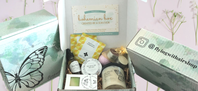 Flying with Air – Review? Bohemian & Self Care Subscription + Coupon!