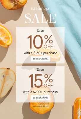 The Detox Market Labor Day Sale: Get Up To 15% Off!