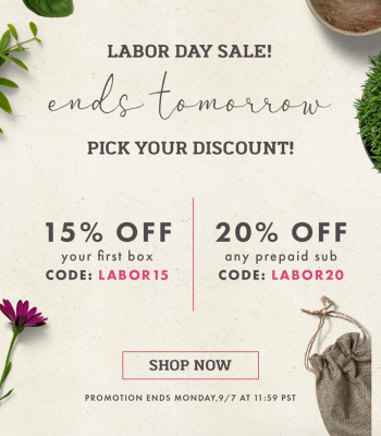 Bombay & Cedar Labor Day Sale: Get Up To 20% Off – Lifestyle, Beauty, & Seasonal Box!