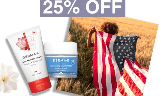 Derma-E Labor Day Sale: Get 25% Off Sitewide!