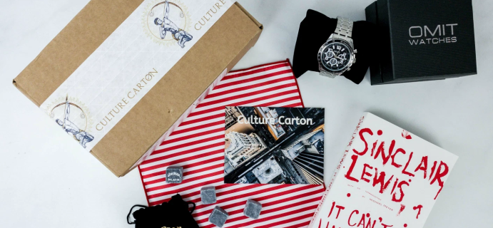 Culture Carton Labor Day Sale: Get 50% off first month!