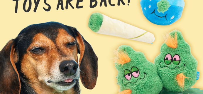 """BarkBox Coupon: Free """"Special Herb"""" Toy With Your First Box!"""