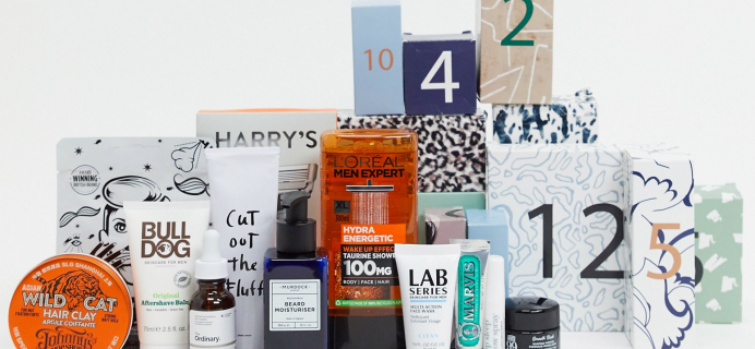 ASOS Men's Grooming Advent Calendar 2020 Available Now + Full Spoilers! {UK}