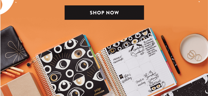 New Erin Condren Halloween Collection Available Now + Coupon!