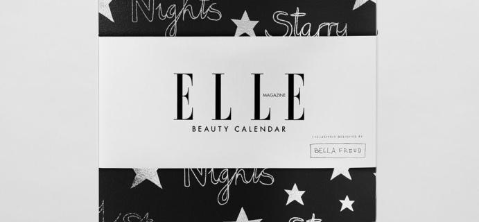 2020 ELLE Beauty Advent Calendar Coming Soon + Spoilers! {UK}