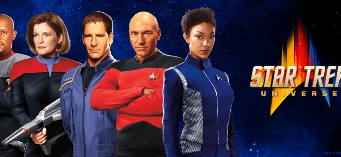 Star Trek T-Shirt Club Available Now!