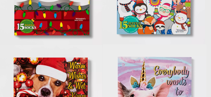 2020 Target Socks Advent Calendars Available Now!