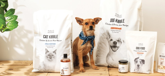 Public Goods Pet Care Collection Available Now + Coupon!