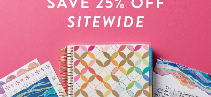 Erin Condren Friends & Family Sale: Get 25% Off Sitewide!
